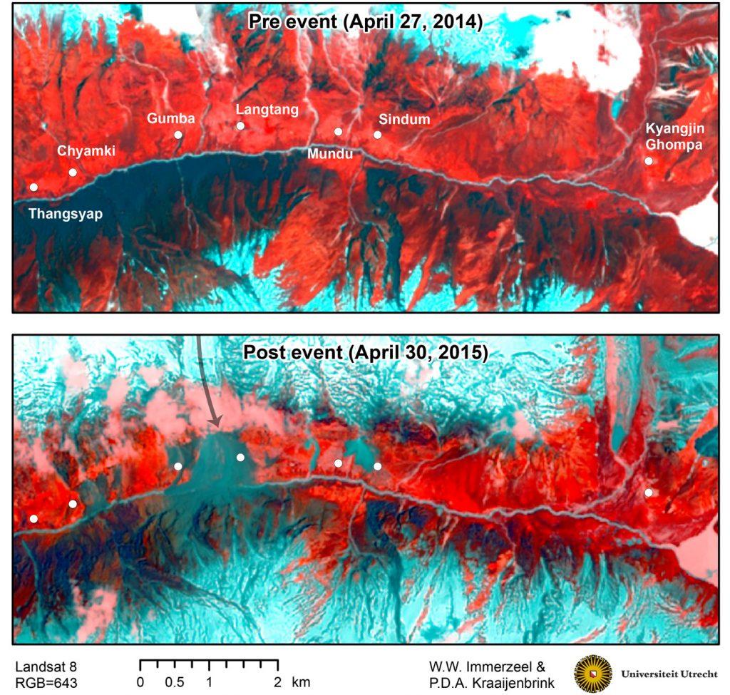 Langtang_landslide_landsat8_pre-post